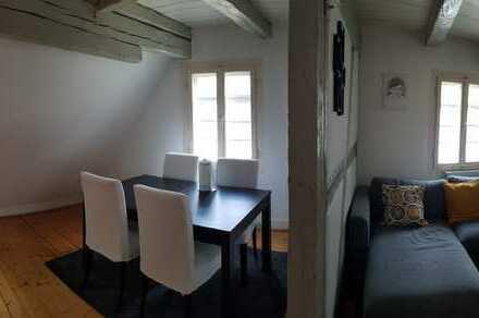 Gemütliche Altbauwohnung im Dachgeschoss über 2 Etagen