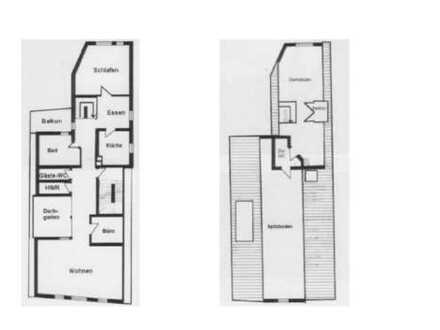 Top Maisonette, hell, ruhig, gehobene Ausstattung, Zentrum Marktheidenfeld (Gesamtfläche 220m2)