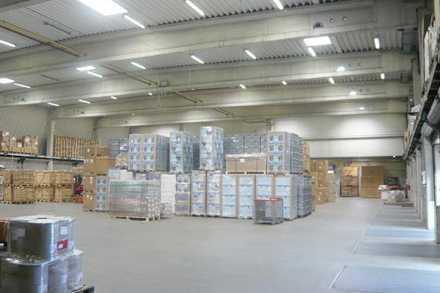"""""""BAUMÜLLER & CO."""" - ca. 3.500 m² Hallenfläche - direkt an der A67"""
