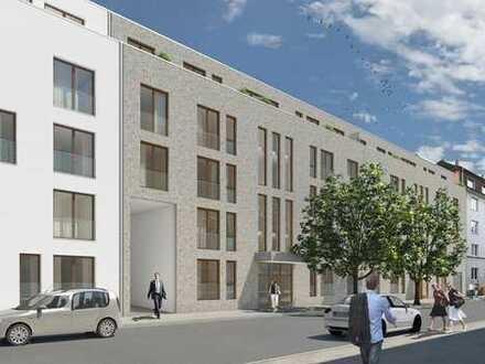 Erstbezug Neubau mit Einbauküche und Garten: stilvolle 2-Zimmer-Wohnung in Hannover Südstadt