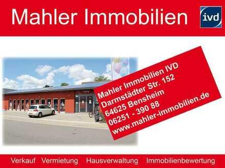 Moderne hochwertig ausgestattete Verkaufshalle 195 qm Fläche im Gewerbe - Mischgebiet in Heppenheim