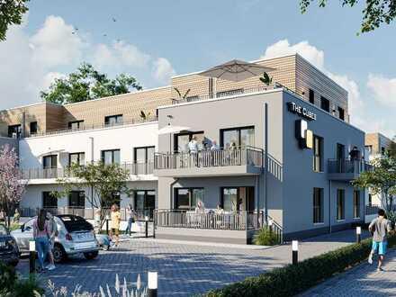 """Wohnen im """"The Cubes"""" - 2-Zimmer-Penthouse mit großer Dachterrasse unweit der Bonner Innenstadt"""