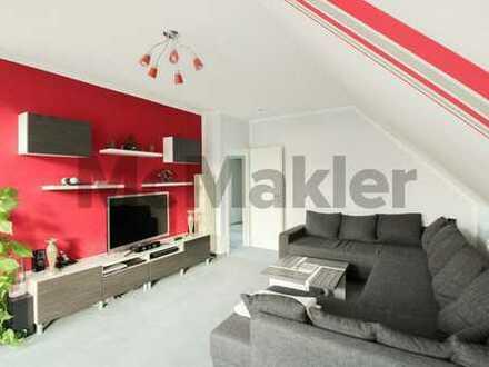 Helle 2 Zimmer Dachgeschosswohnung mit TG-Stellplatz in Falkensee