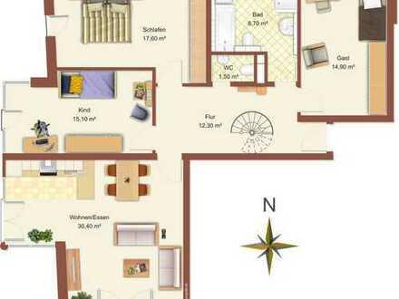 5 Zimmer Gartenwohnung mit EBK, Obermenzing
