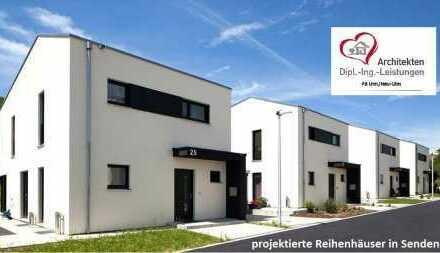 Moderne Stadthäuser für junge Familien