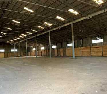 Bamberg Süd, ca. 2.360 m² verfügbare Lagerhalle zu vermieten
