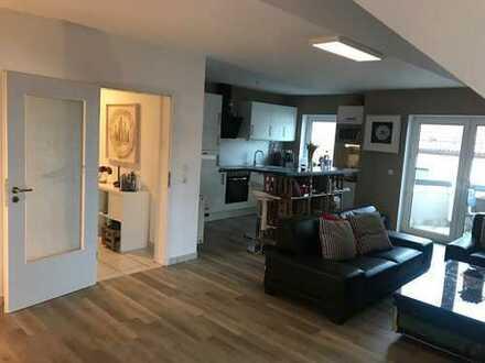 Gepflegte 3-Zimmer-Maisonette-Wohnung m. Balkon in guter Lage von Bensheim