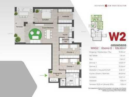 WOHNPARK AM POSTHALTER (Haus 1) - Wohnung 2