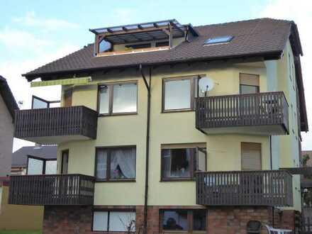 Schöne Dachgeschosswohnung 3-Raum mit Balkon und Einbauküche in Bad Sachsa