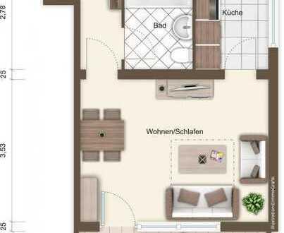 Tolle 1 Zimmer Wohnung mit Blick über Delmenhorst