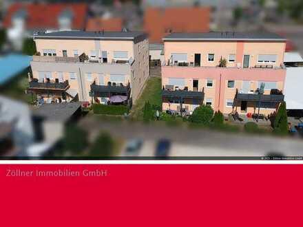 +++reserviert+++ 3-Zimmer Wohnung mit großem Balkon im Kern von Giengen