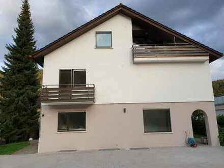 Erstbezug nach Sanierung: freundliche 4-Zimmer-EG-Wohnung mit Terrasse und Garten in Bad Liebenzell