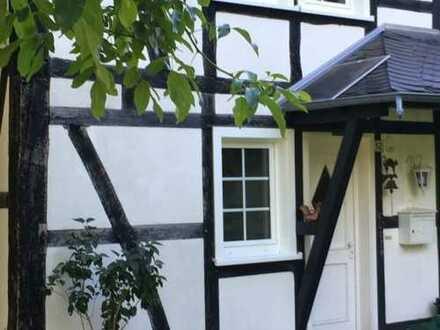 Wohnung im ländlich gelegenen Fachwerk-/Bauernhaus mit Terrasse