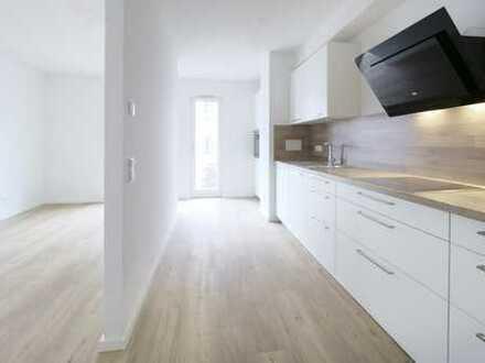 Erstbezug! 2 Zimmer Wohnung im Neubau -Erdgeschoss mit Gartenanteil