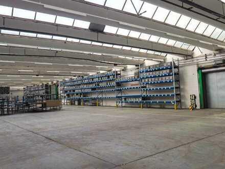 HALLENFLÄCHE - Lagerflächen/Produktionshalle/Versand mit Anlieferungstoren / Büro in 66500 Hornbach