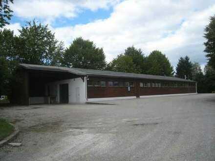 Beheizbare Lagerhalle im Gewerbegebiet Osterfeld direkt an der B 471