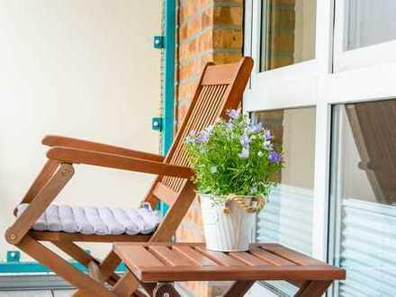 Sehr gepflegte 3 Zimmerwohnung mit Balkon und Tiefgarage in Hamburg-Ohlsdorf zu verkaufen!