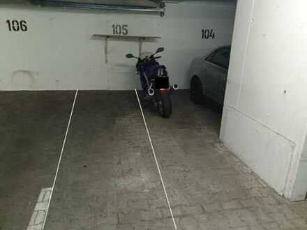 Motorradstellplatz in Tiefgarage zu vermieten