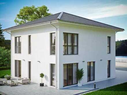 Neubau einer modernen Stadtvilla in Enger