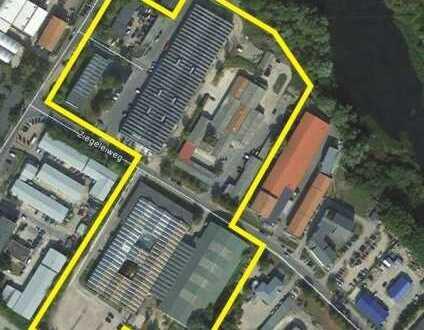 Halle 650m² mit Büro und Stellflächen
