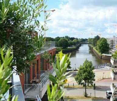 Für Kapitalanleger: moderne Dachgeschosswohnung mit großer Terrasse und Wasserblick in der Hafencity