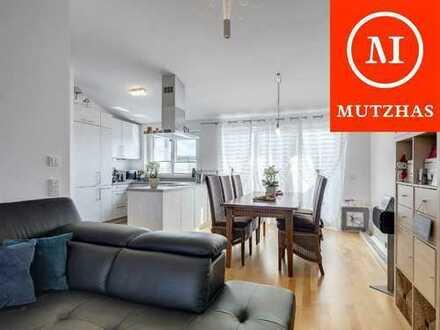 MUTZHAS - 4 Zimmer Dachgeschosswohnung mit 2 Bädern und herrlichem Blick!