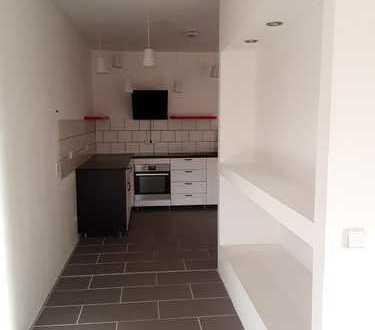 Vollständig renovierte 2-Zimmer-Wohnung mit Terrasse und EBK in Gerswalde
