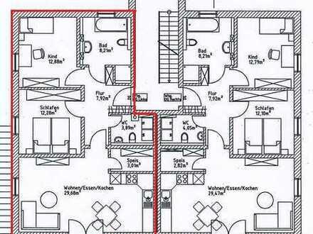 Neuwertige 3-Zimmer-Wohnung mit Balkon und Einbauküche in Lappersdorf