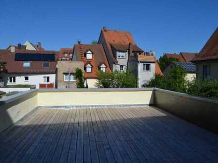 Luxuriöse 2-Zimmer Wohnung, 2 Terrassen, 100 qm, Villinger Innenstadt