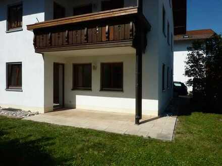 Gepflegte 2-Zimmer-Wohnung mit Terrasse in Lechbruck am See
