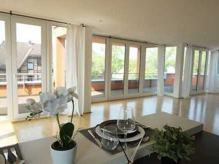 Designte Wohnung in Do-Kirchhörde, hochwertige Einbauküche, Parkett, Aufzug, Sauna in der Wohnung!