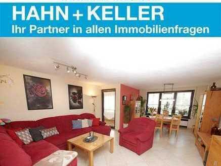 Top renovierte 3 Zimmer-Wohnung mit Balkon und Einzelgarage in ruhiger Lage von Altbach!