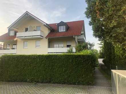 gepflegte 3-Zimmer-Wohnung mit Süd-Balkon und Einbauküche in Weilheim in Oberbayern