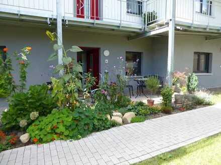Barrierefreie charmante Erdgeschosswohnung mit Garten