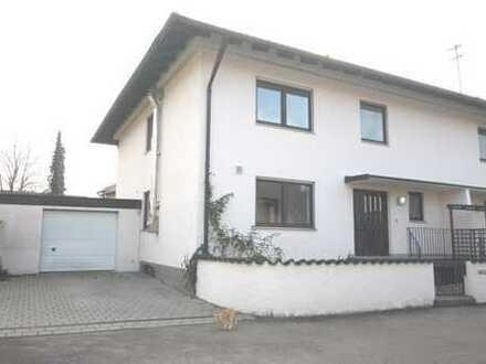 Großzügige Doppelhaushälfte mit Garage in sehr guter, ruhiger Wohnlage in Neuburg