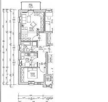 Ansprechende 2-Zimmer-Wohnung mit Balkon und Einbauküche in Dresden