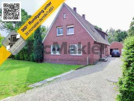 Toplage im Ortskern: Großzügiges Ein- bis Zweifamilienhaus mit Garten! Gewerbefläche möglich!
