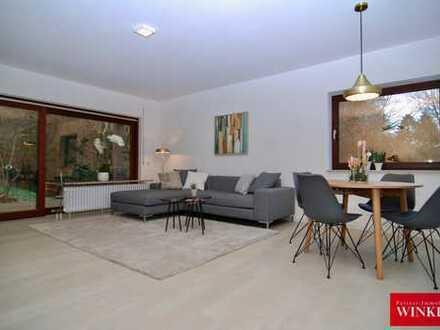 3-Zimmerwohnung mit Terrasse und Garagenstellplatz in idyllischer Waldrandlage von BN-Friesdorf