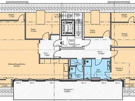 Traum DG-Wohnung mit viel Platz und Exklusiver Best Ausstattung!