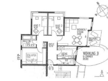 Attraktive 4-Zimmer-Wohnung mit Balkon und Einbauküche in Reutlingen, Kammweg
