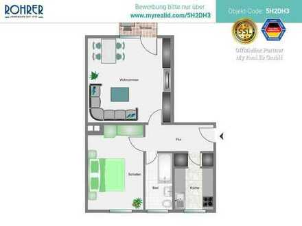 München-Untergiesing - 2 Zimmer-EG-Whg., Küche, Bad/WC, Flur, Terrasse und Kellerabteil