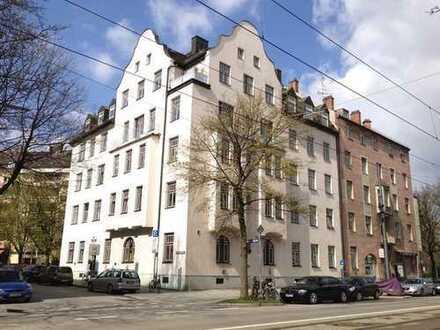 3,5-Zimmer-Wohnung im Altbau in Giesing
