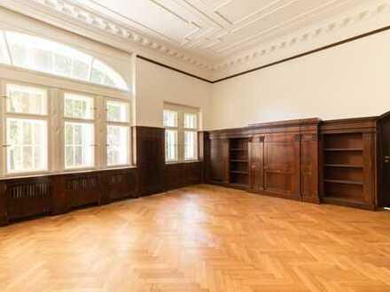 Luxuriöse Büroflache mit 4-Zimmern für Freiberufler in historischem Einzeldenkmal in Grunewald!