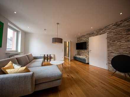 Wohnen im Szeneviertel - moderne, möblierte 3 Zimmer Wohnung mit Balkon und Tageslichtbad
