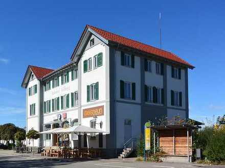 Wohnen am Stadtpark in einem historischen Gebäude - Sonnige 3-Zimmer-ETW in Kißlegg