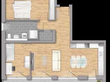 3 Zimmer Wohnung mit LoggiaBeratung am Sonntag an der Baustelle nach Vereinbarung