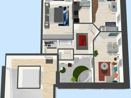 Stilvolle 3-Raum-Wohnung mit Fahrstuhl