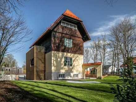 Einzigartiges Designer-Jugendstil-Loft in historischer Altbauvilla