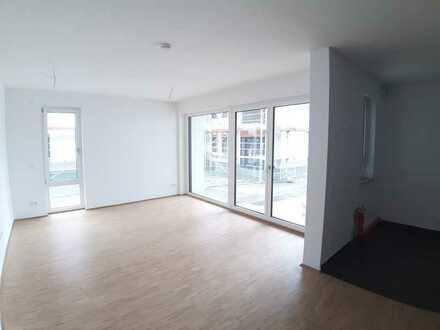 Exklusive Neubau-Wohnung mit Garten in 1A-Lage, top Autobahnanbindung, neue Einbauküche