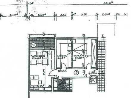 2-Zi. Wohnung mit Balkon in Waltrop zu verkaufen